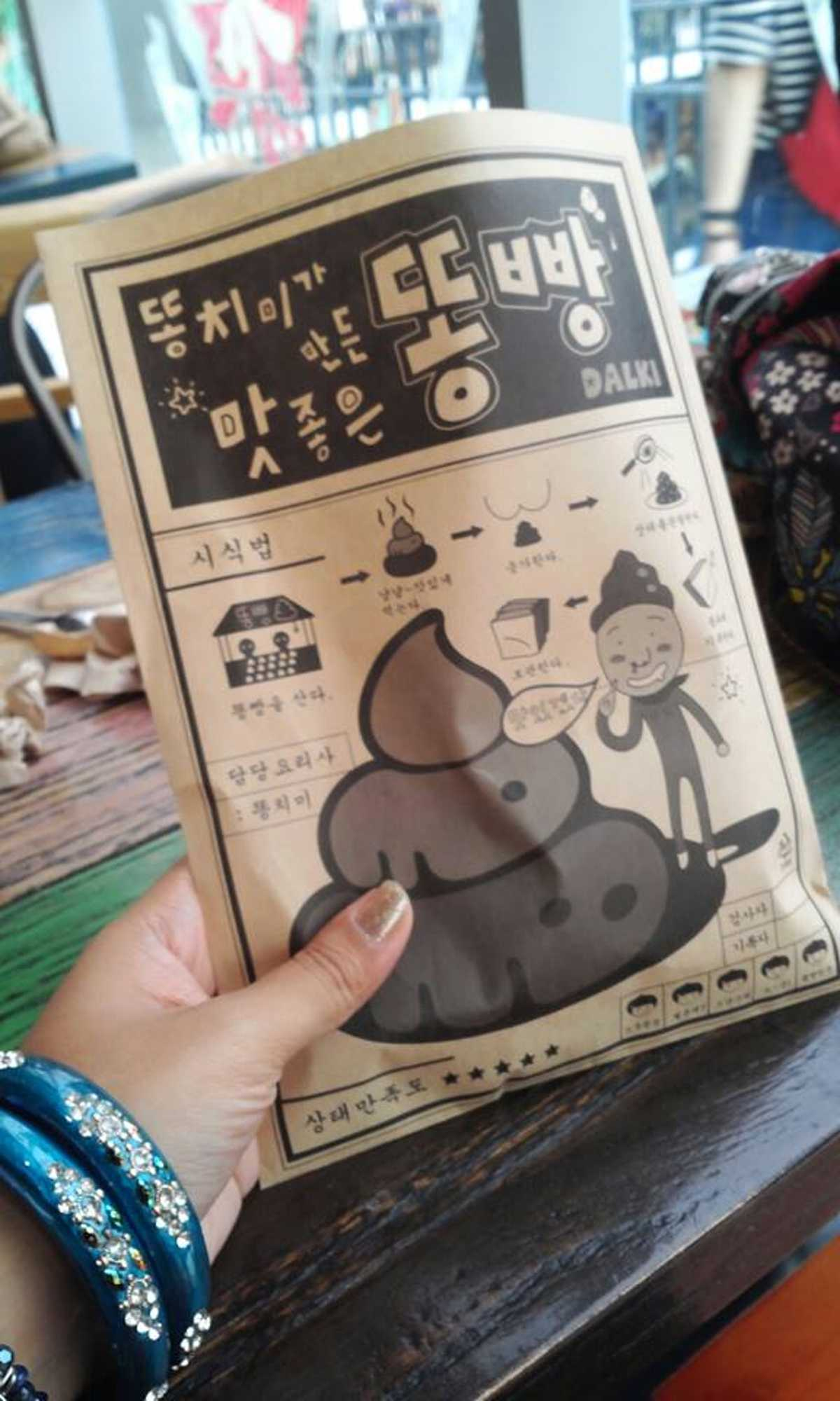 Elaborate packaging with illustrations of Ttong