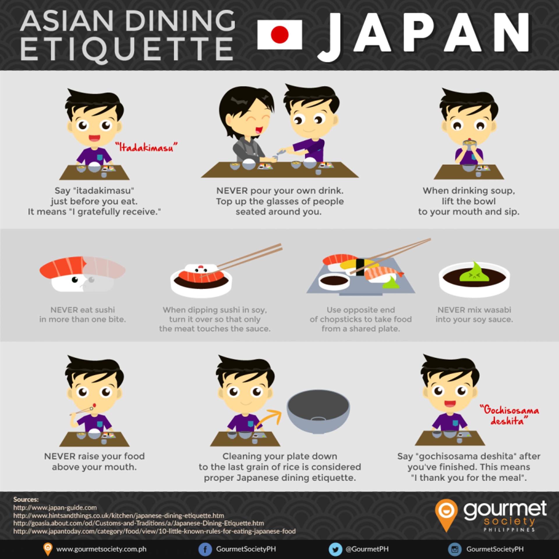 Asian Dining Etiquette Series: Dining in Japan