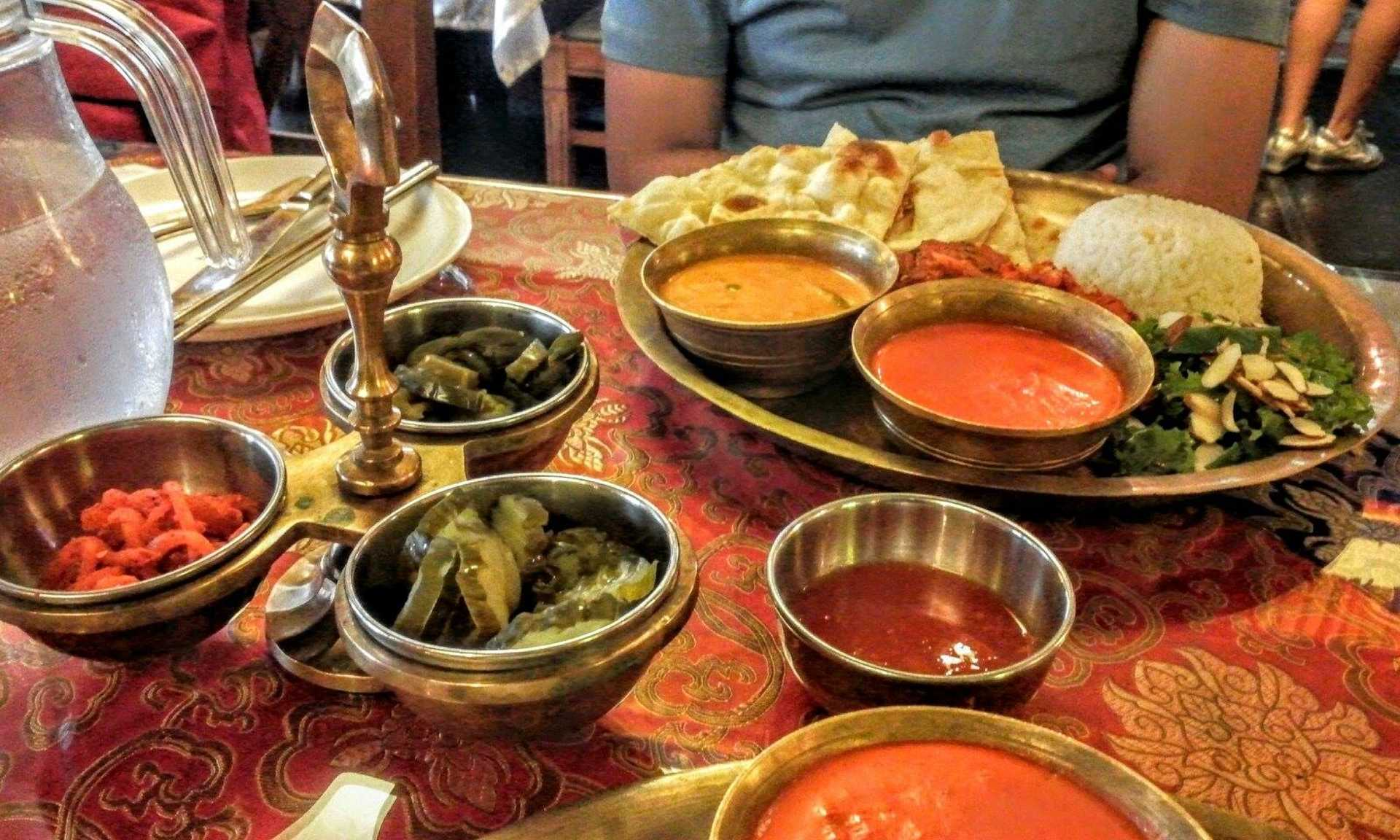 Indian Thali Lunch Set