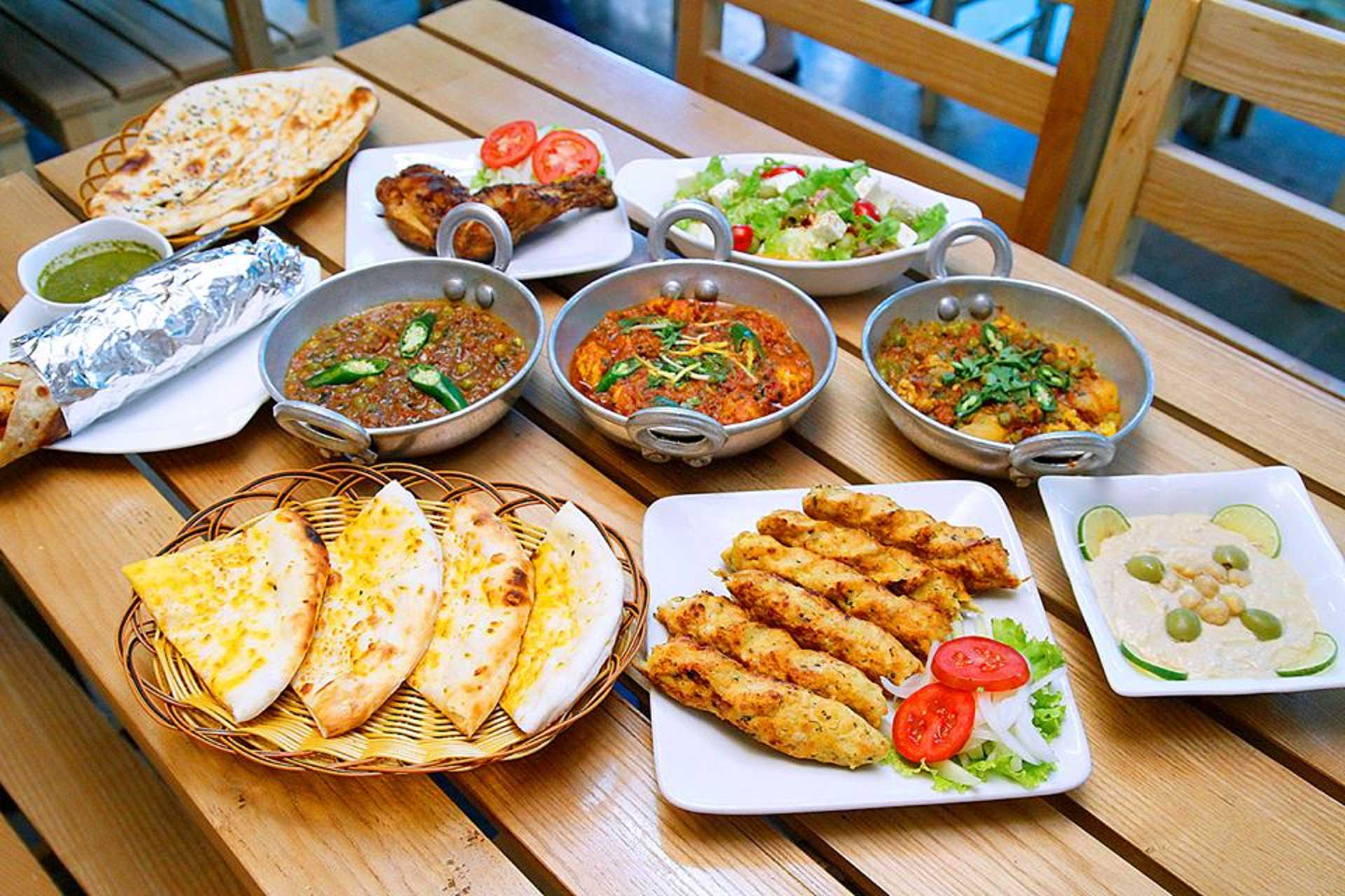 10 Our dream lunch at Nan N Kabab
