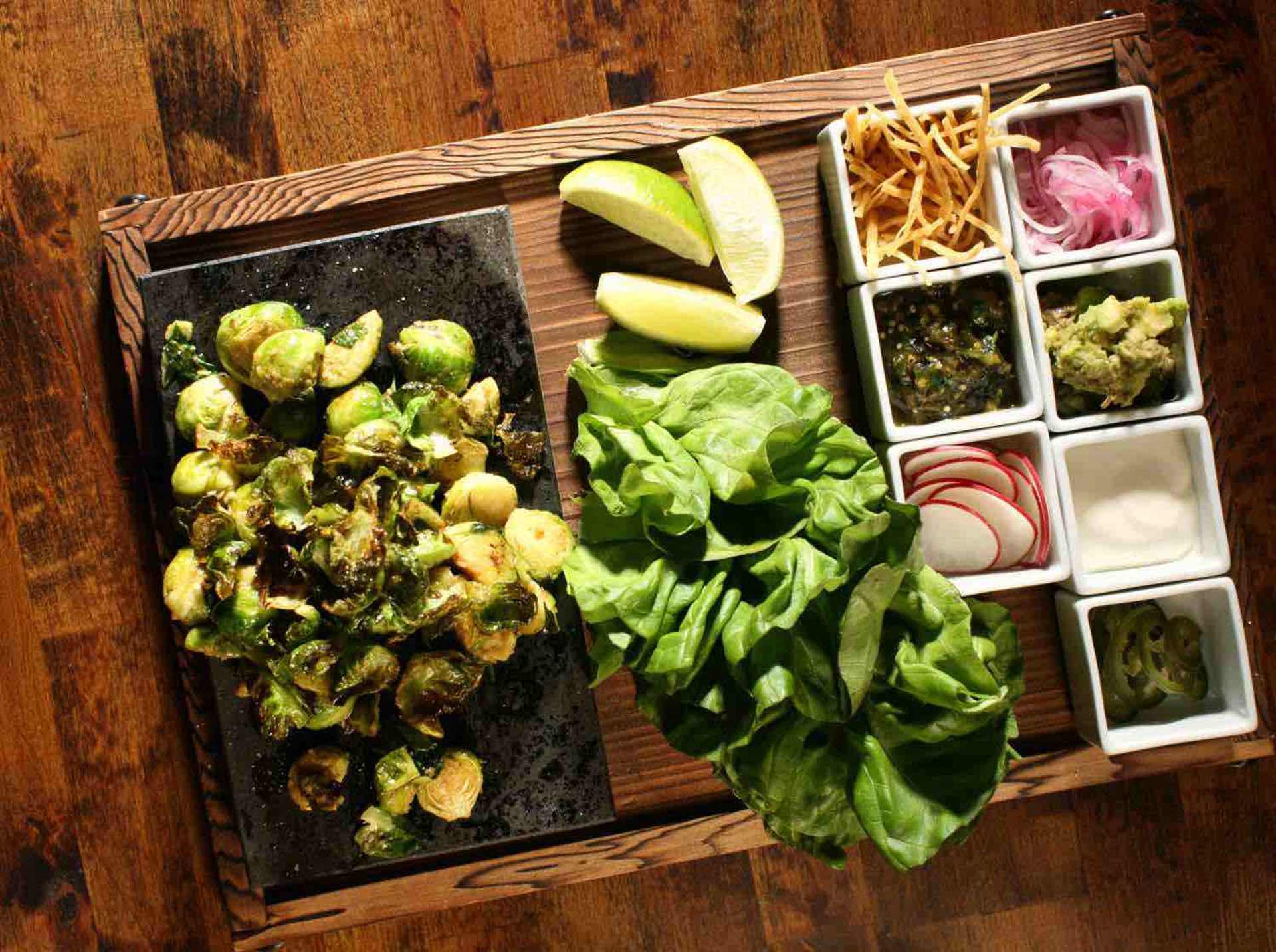 11 - Dirt Candy Brussels Sprouts Tacos