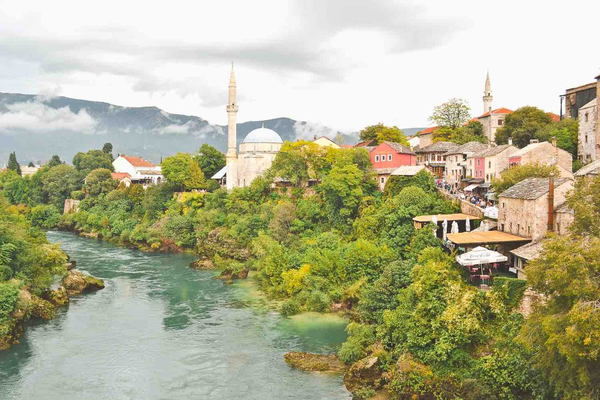 Another view from Stari Most
