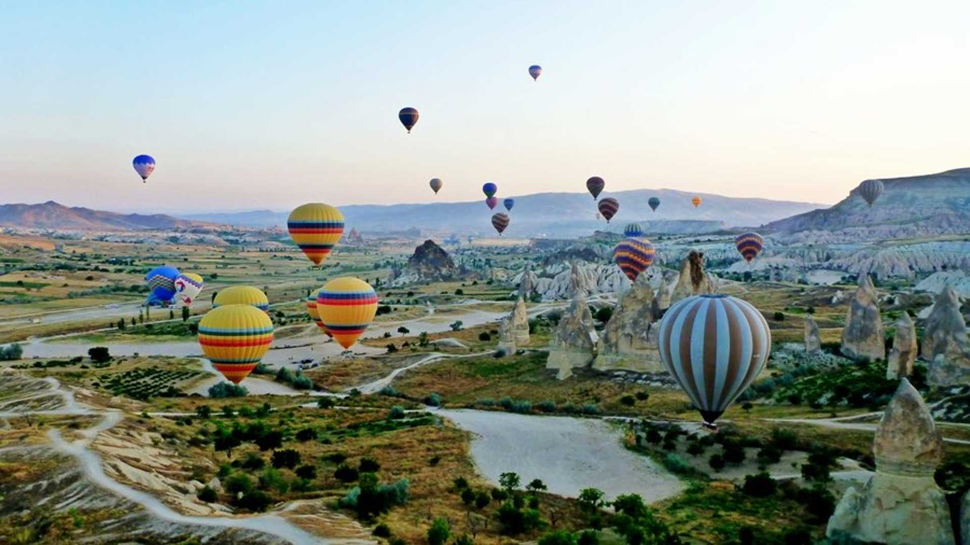 Liberate yourself with a trip to Cappadocia, Turkey