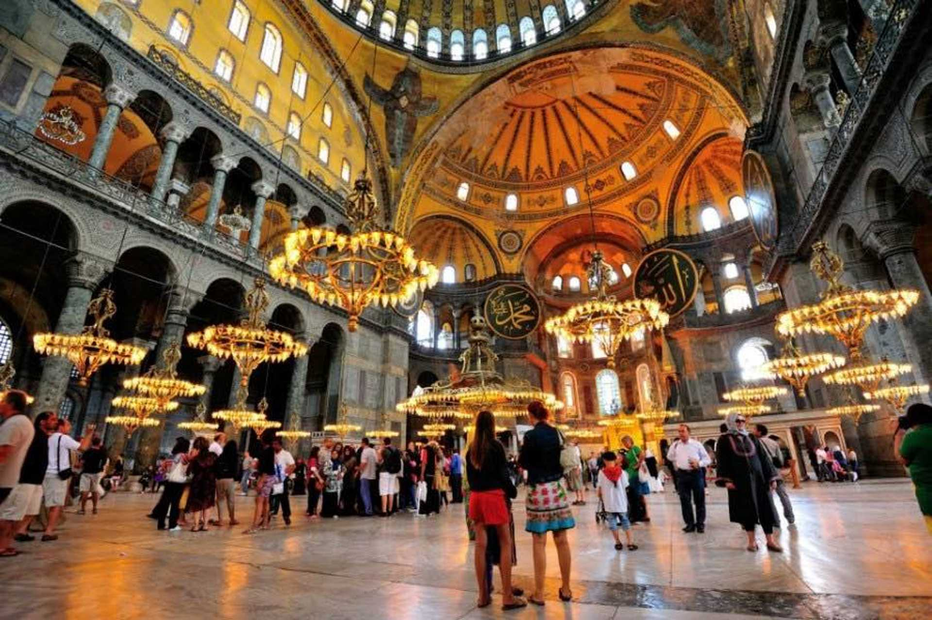 Take a moment to appreciate the beauty of Ayasofya
