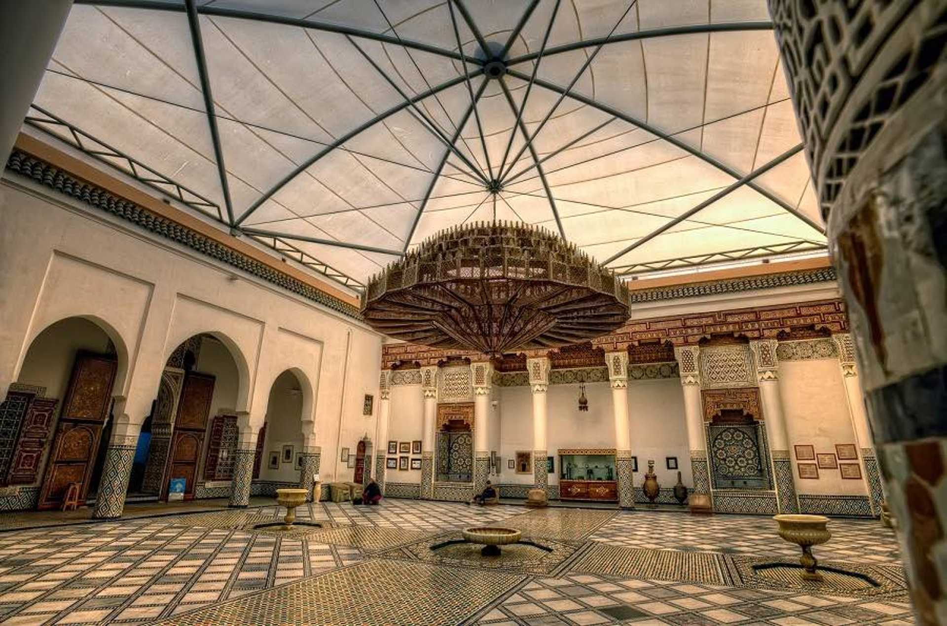 2.1 - Explore the Marrakech Museum that houses modern and classic works of art