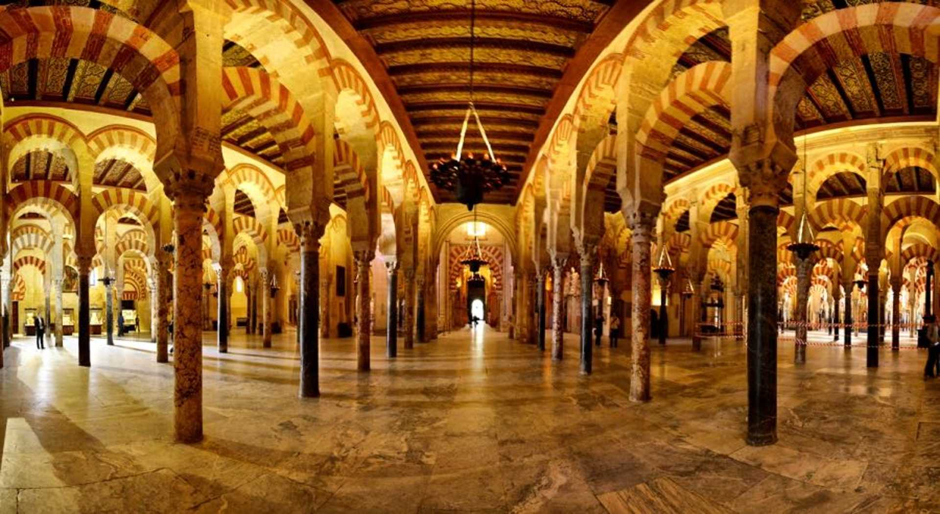 Marvel at the architecture of Spain's Great Mosque of Cordoba