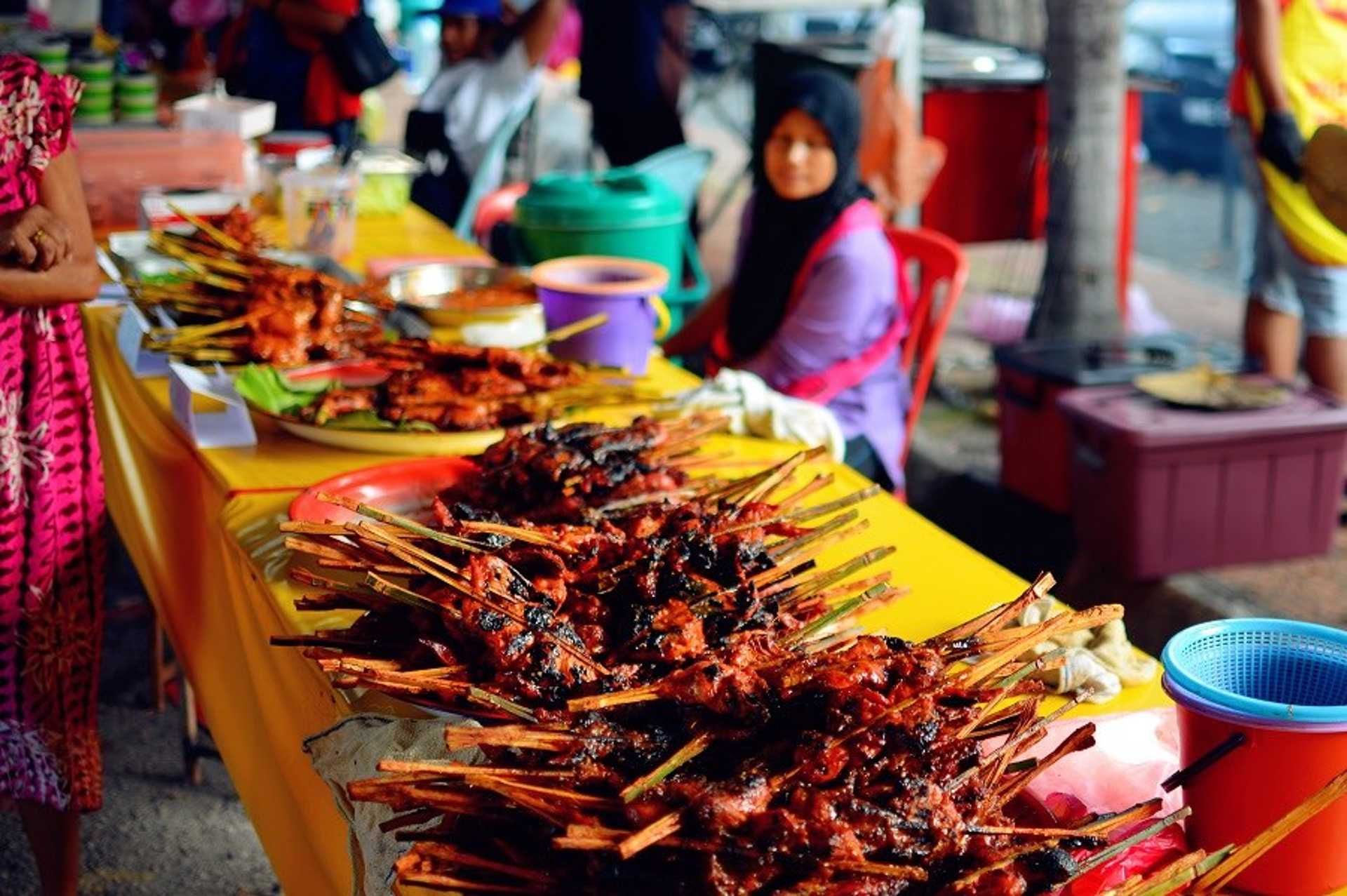 Any Ramadhan bazaar is incomplete without ayam percik