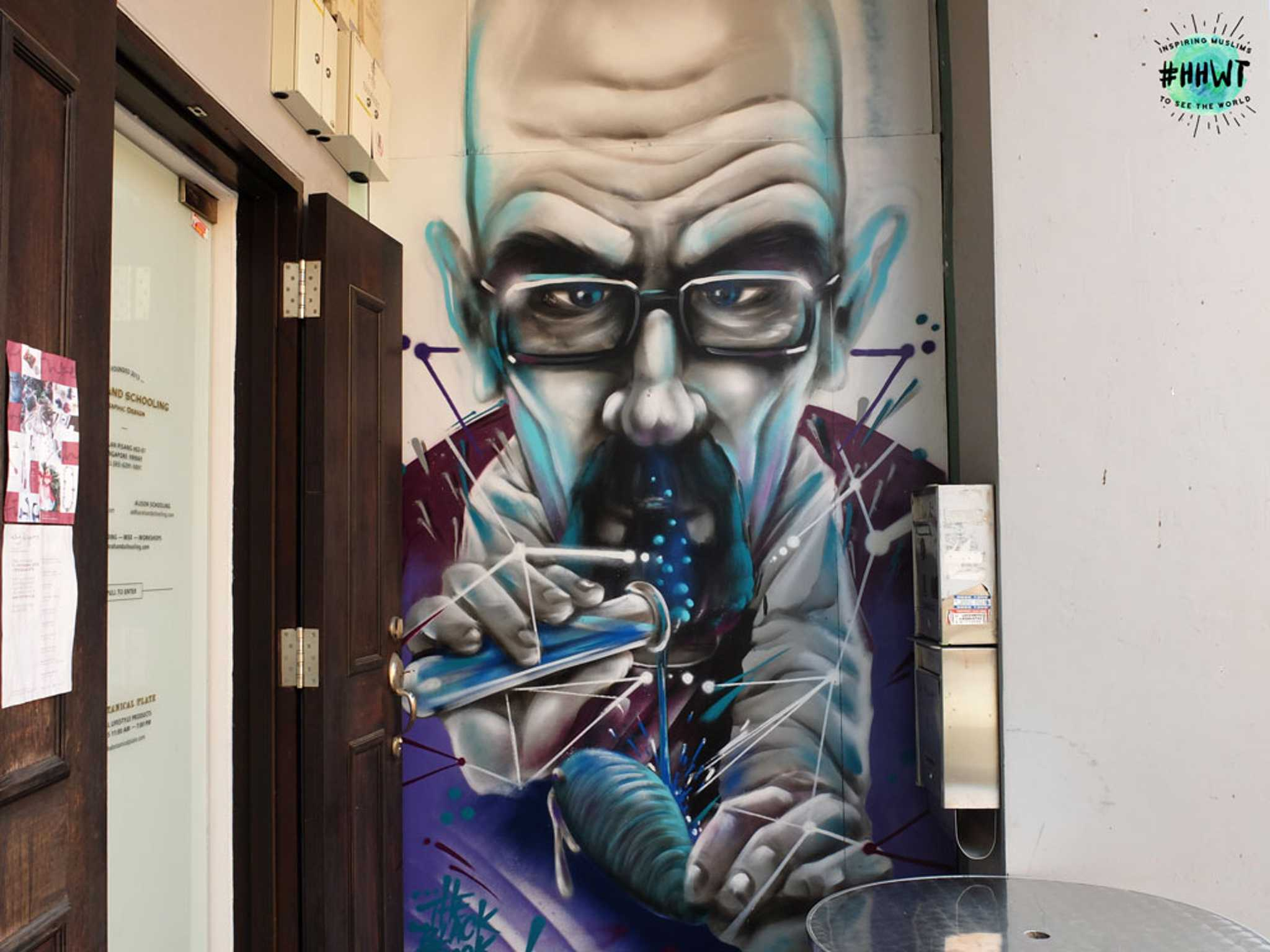 Don't miss this stunning portrait of Breaking Bad's Walter White!