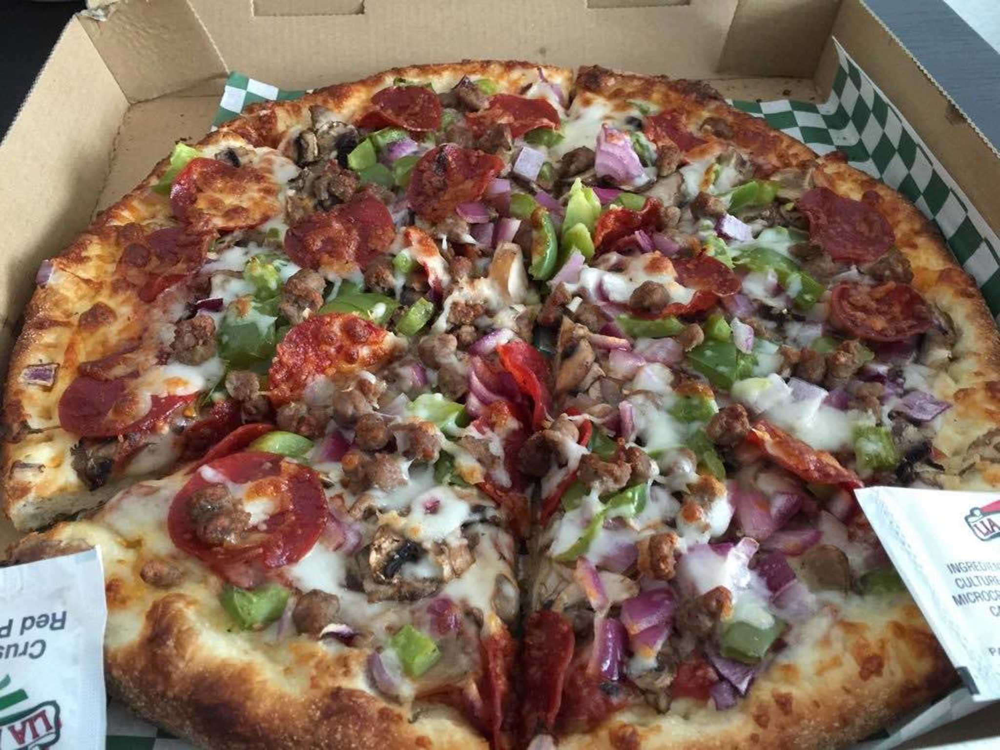 7(2) - Bellissimo Special Pizza