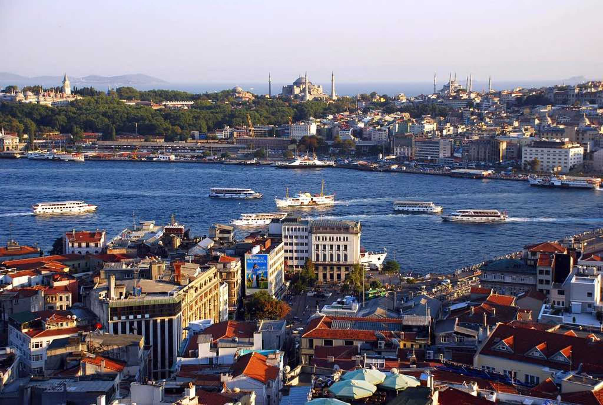 Check out the views from the Galata Tower!